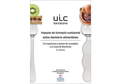 Impacte de formació nutricional sobre decisions alimentaries